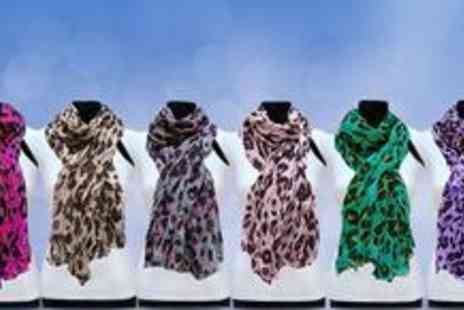 A SHU.co.uk  - Two fabulous leopard print scarves - Save 60%