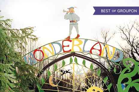 Wonderland Midlands - Entry to Wonderland Midlands For Family of Five - Save 55%