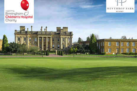 Heythrop Park Resort - 18 Holes of Golf for Two - Save 51%
