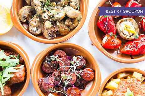 La Fuego - Tapas and Bottle of Wine For Two - Save 62%