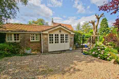 Potting Shed Holiday Cottages - Two or Three Nights For two With Bottle of Wine, Chocolates and Hot Tub Use  - Save 0%