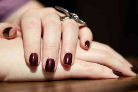 Atelier M - Shellac Manicure or Pedicure  - Save 53%