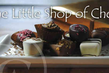 The Little Shop of Chocs - Chocolate Tapas sharing plate with drinks  - Save 45%
