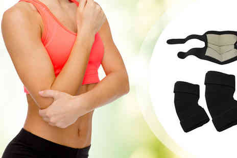 Aneeks - Infrared Magnetic Elbow Support - Save 83%