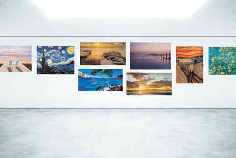 BuyBay BV - Famous Artwork Canvas Prints - Save 54%