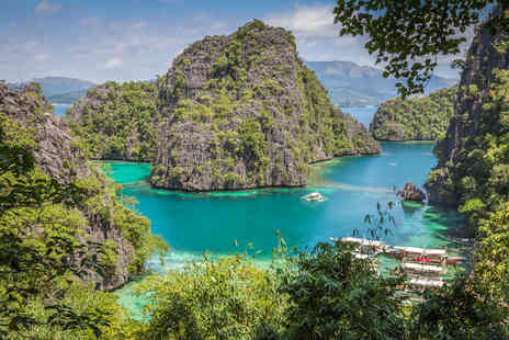 Asia Travel - Seven night Philippines island hopping holiday to Puerto Princesa, Honda Bay and El Nido with accommodation, meals and transfers - Save 0%