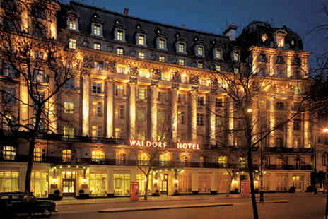The Waldorf Hilton - Afternoon tea for two including a glass of Fantinel Prosecco each   - Save 55%