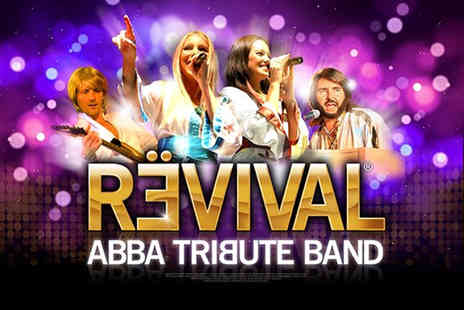 Smiles Events - Two outdoor concert tickets to see an ABBA tribute band   - Save 50%