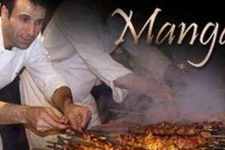 Mangal - Two Course Turkish Meal For Two Plus Baklava - Save 52%