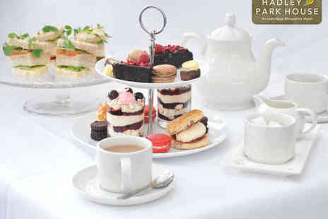 Hadley Park House Hotel - Sparkling Afternoon Tea for Two - Save 50%