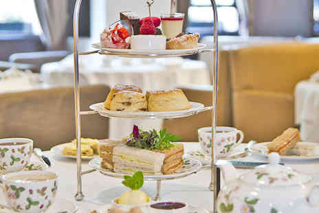 Millennium Hotel - Mayfair Afternoon Tea with an Optional Glass of Champagne for Two  - Save 52%