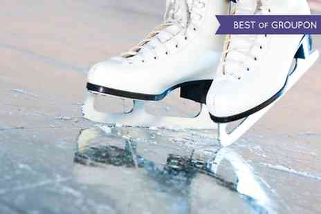 Silver Blades - Ice Rink Entry Plus Skate Hire - Save 50%