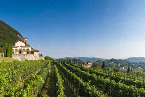 Hotel Alponte - Six nights stay in North Italy with wine tasting, 2x 3 course meals & Vespa hire - Save 49%