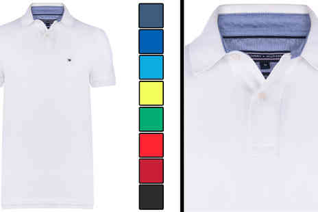 Intriangle Solutions - Tommy Hilfiger Custom Fit Mens Polo Shirt - Save 51%