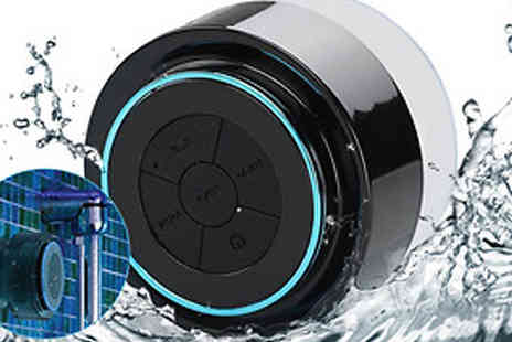 Mobile Heads - Floating Waterproof Bluetooth Speaker - Save 60%