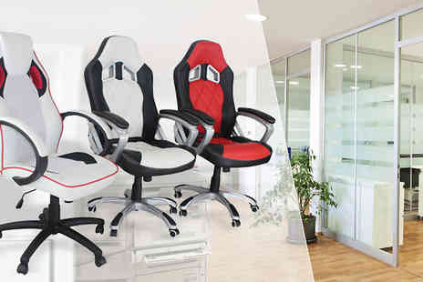 Sleep Design - Jenson Office Racing Chair  - Save 63%