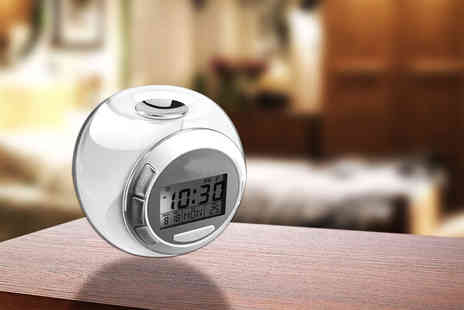 Advanced Polymer - LED colour changing alarm clock - Save 0%