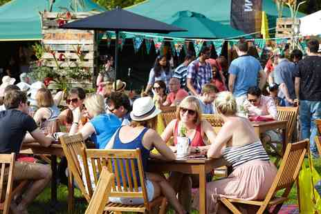 Foodies Festival - Two tickets to the Foodies Festival in Tatton Park on 17th July  - Save 50%