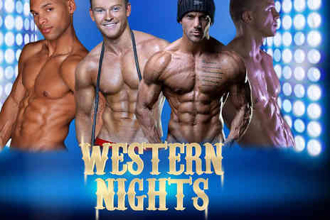 Flirt  - Ticket to the Western Nights Show at Kingdom Bar & Nightclub including a buffet dinner and glass of Champagne - Save 50%