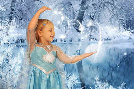 Ice Princess Photos - Frozen inspired ice princess kids photoshoot and one print with Ice Princess Photos - Save 0%