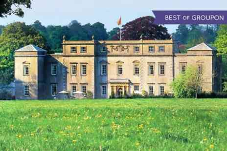 Ston Easton Park - One Night For Two With Breakfast, Cream Tea And Wine   - Save 54%