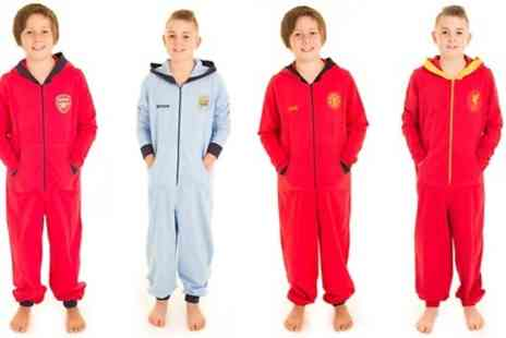 LoveMyGifts - Personalised Official Premier League Kids Onesies With Free Delivery  - Save 20%