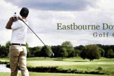 Eastbourne Downs Golf Club - Round of Golf For Two With Breakfast - Save 67%
