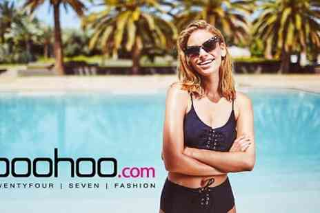 boohoo -  £15 to Spend Online - Save 50%