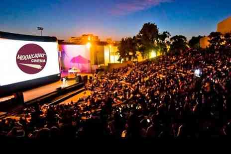The Moonlight Cinema - Outdoor Movie Screening of The Wolf of Wall Street, Grease or Pretty Woman   - Save 37%
