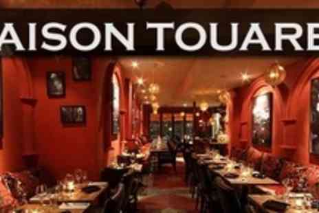 Maison Touareg - Three Courses of Moroccan and Lebanese Fare For Two - Save 61%
