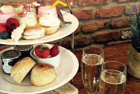 Huntleys Country Stores - Afternoon tea for two with a bottle of bubbly - Save 41%