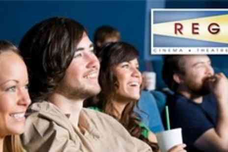 Regal Theatre - Cinema Admission For Four With Large Popcorn - Save 57%