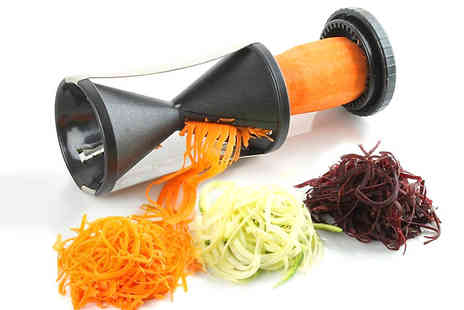 SA Products - Vegetable Spiral Slicer - Save 75%