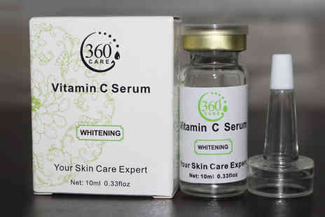 Seated Toad - Vitamin C Face Whitening Serum - Save 60%