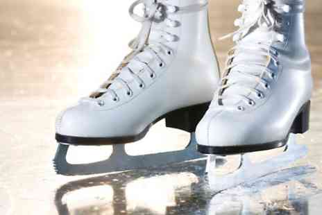 Silver Blades Ice - Ice Rink Entry Plus Skate Hire- Save 50%