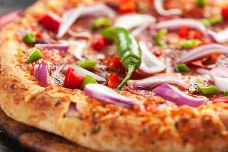 East Coast Diner - Sharing Starter Basket With Pizzas For Two  - Save 49%