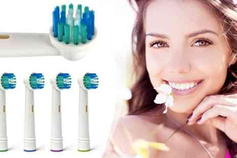 AIODistribution - Oral B Compatible Toothbrush Heads - Save 77%