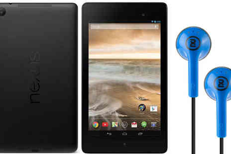Laptop Outlet  - ASUS Nexus 7 Tablet with Optional Skullcandy Headphones - Save 49%