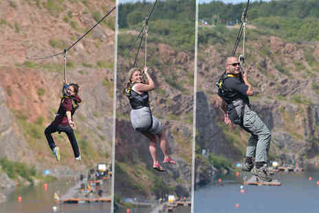 The National Diving & Activity Centre - Thrilling 700m zip line ride - Save 47%