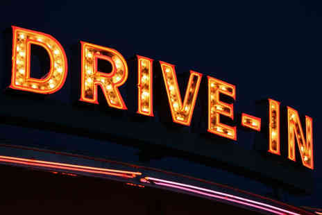 Route 66 Drive In Cinema - Drive in Cinema Admission For One Car with Two Bags of Popcorn and Two Cans of Soft Drink - Save 53%