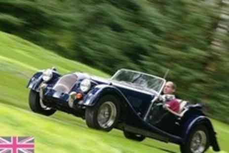The Hotel on the Park - Classic Morgan Sportscar Driving Experience - Save 60%