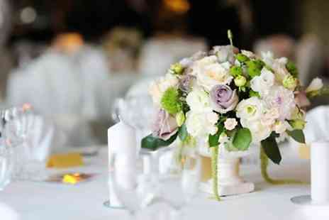 Charmed Floristree - Wedding Flower Package With Top Table Arrangement  - Save 66%