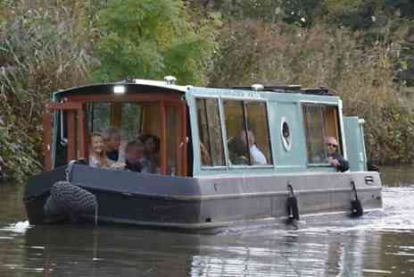 Lancashire Canal Cruises - Choice of Cruise Such as Buck's Fizz Breakfast or Afternoon Tea  - Save 0%