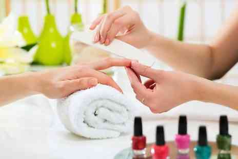 Hello Gorgeous Studios  - Deluxe Shellac Manicure  - Save 77%