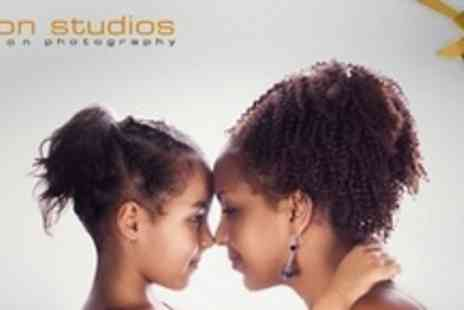 Fusion Studios - Makeover Photo Shoot Experience For Mother and Daughter - Save 96%