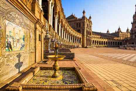 Hotel Plaza Santa Lucía - One, Two,Three or Four  nights stay in Seville with breakfast and tickets to Isla Magica theme park - Save 34%