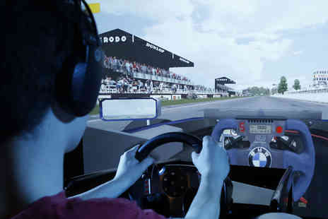 Race Zone - 15 min sessions of F1 race simulation for one  - Save 35%
