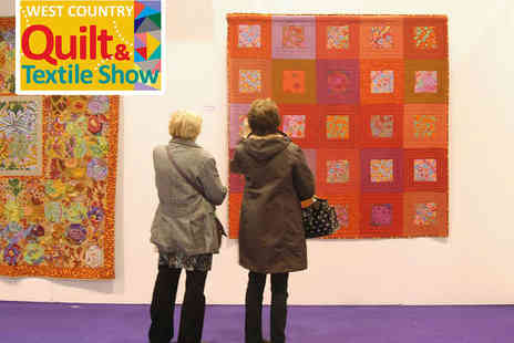 The West Country Quilt Show - Two Tickets to The West Country Quilt Show - Save 33%