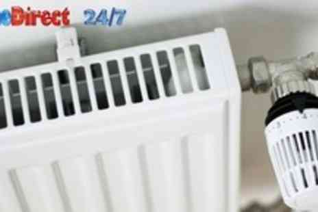 HomeDirect 24/7 - MagnaCleanse Central Heating System Flush Up to Eight Radiators - Save 78%