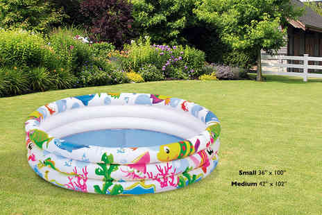 Funky Buys - Small paddling pool - Save 73%
